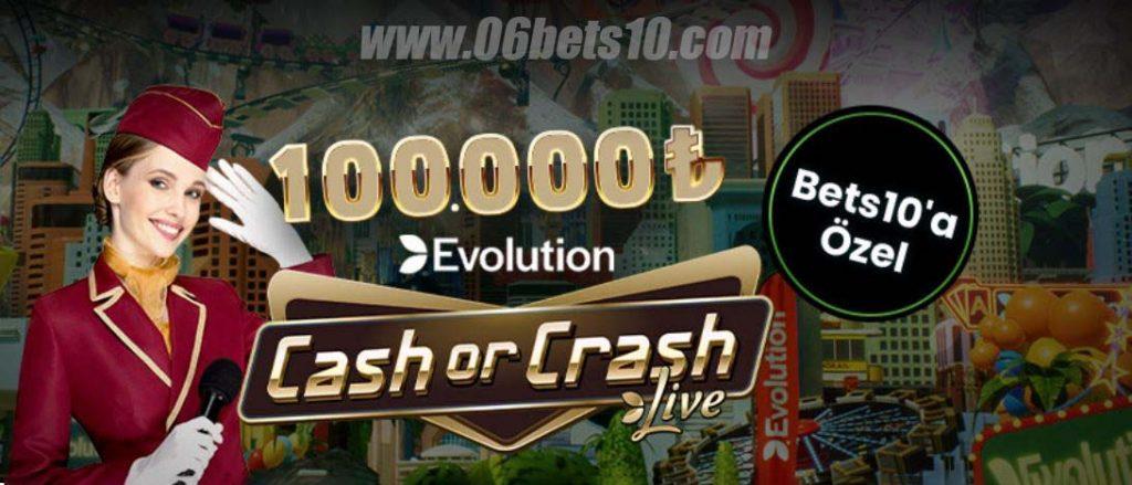 Best10 Cash or Crash'ten 100.000TL Nakit Ödül